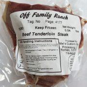 Beef Tenderloin OFR 4-2019